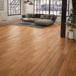 Exotic bamboo wood flooring - Caramel color